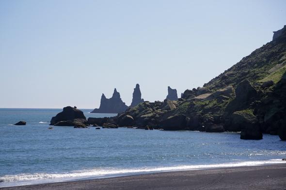 Vik Black Sand Beach Iceland South Coast Road Trip
