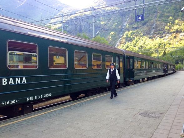 Flam Railway, Flam, Norway