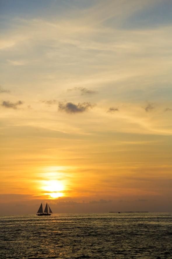 Sunset Sail, Key West, FL