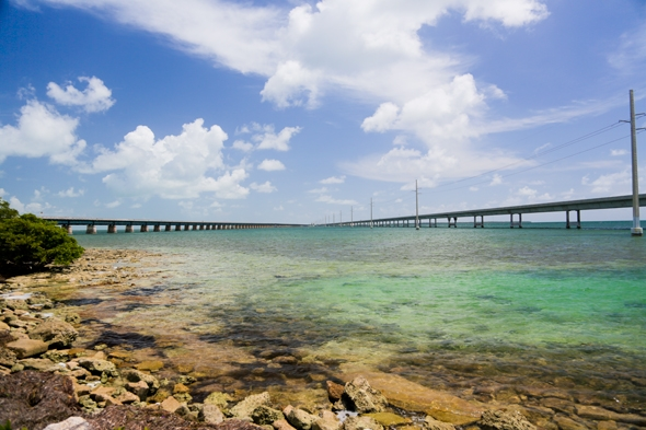 The Old 7 Mile Bridge to Pigeon Key