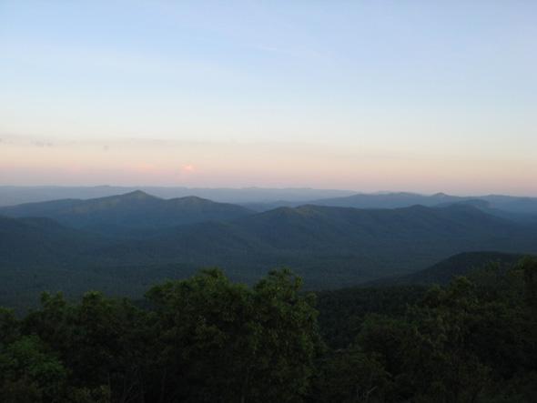 Smoky Mountains Sunset