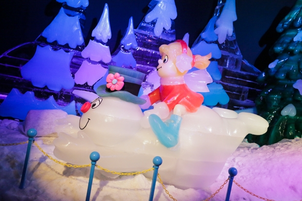 ICE! at the Gaylord Palms in Orlando, Florida