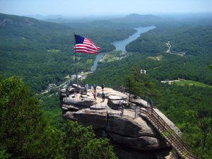Chimney Rock, Asheville, NC