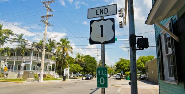 Key West Mile Marker 0