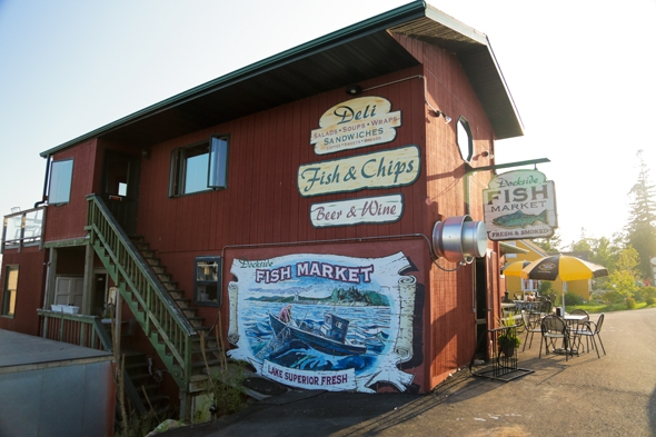 Dockside Fish Market, Grand Marais, MN