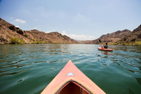 Kayaking the Black Canyon, Off the Strip Adventure, Las Vegas, Nevada