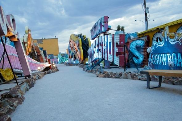 Neon Museum in Las Vegas, Nevada