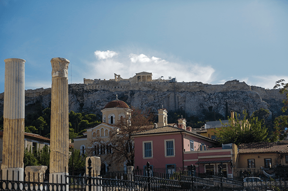 a photo essay athens wander the map monastiraki square in athens by wander the map