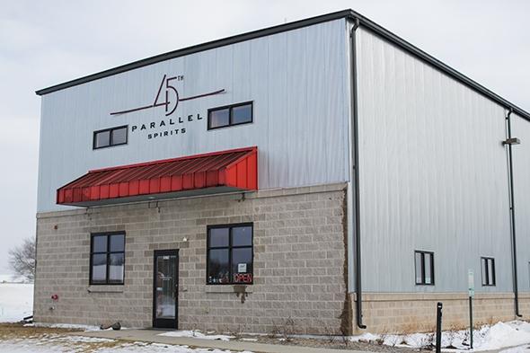 45th Parallel Distillery, New Richmond, WI