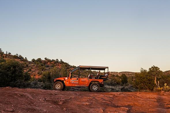 Cliff Hanger Hummer Tour in Sedona, Arizona