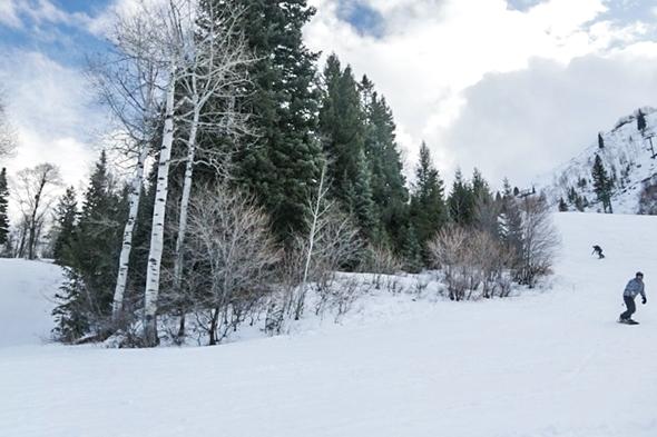 Skiing at Sundance Mountain Resort in Park City, Utah