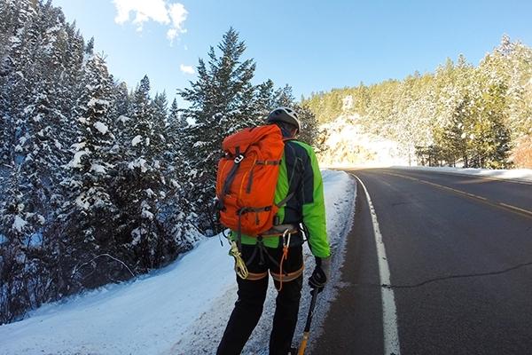 Ice Climbing in Boulder, Colorado