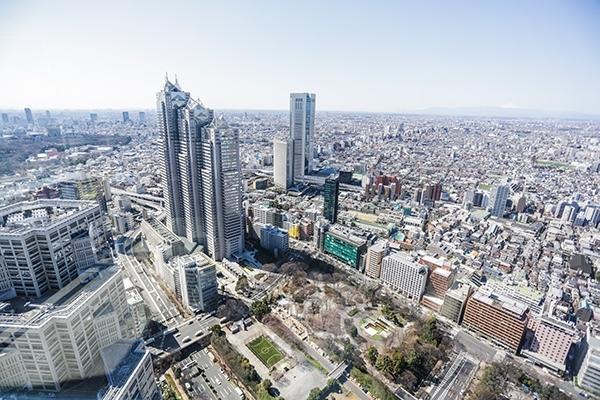 Tokyo Metropolitan Government Building, Tokyo Observation Towers, Tokyo, Japan