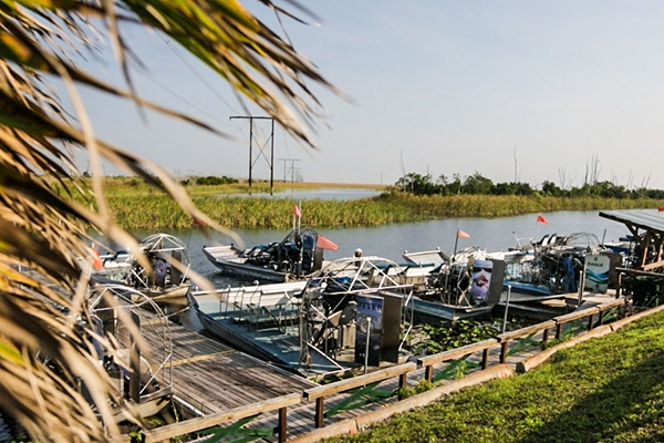 Sawgrass Airboat Tours, Everglades, Florida