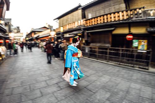 GoPro Photo Geisha Kyoto, Japan