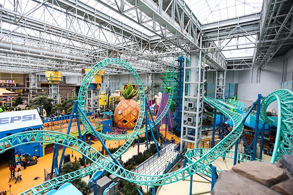 Adventure at the Mall of America, Bloomington, MN