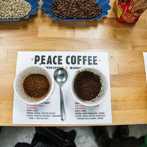 Peace Coffee, Minneapolis, Minnesota