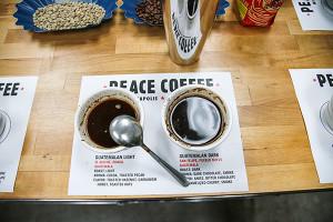 Peace Coffee, Minneapolis, Minnesota