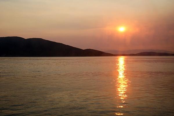 Kayaking the San Juan Islands in Washington
