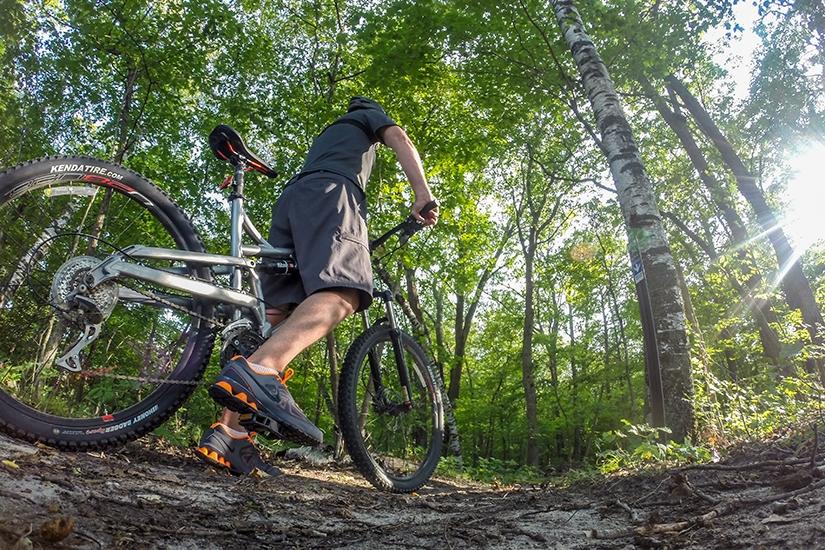 Mountain Biking at Detroit Mountain in Detroit Lakes, Minnesota