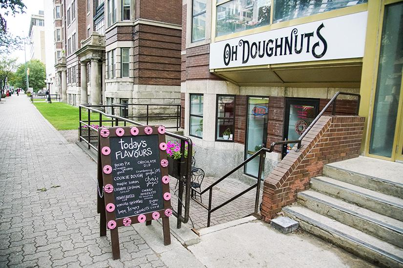 Oh Doughnuts, Weekend in Winnipeg, Canada