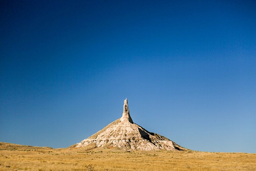 Chimney Rock, Road Trip through Nebraska Photo Essay