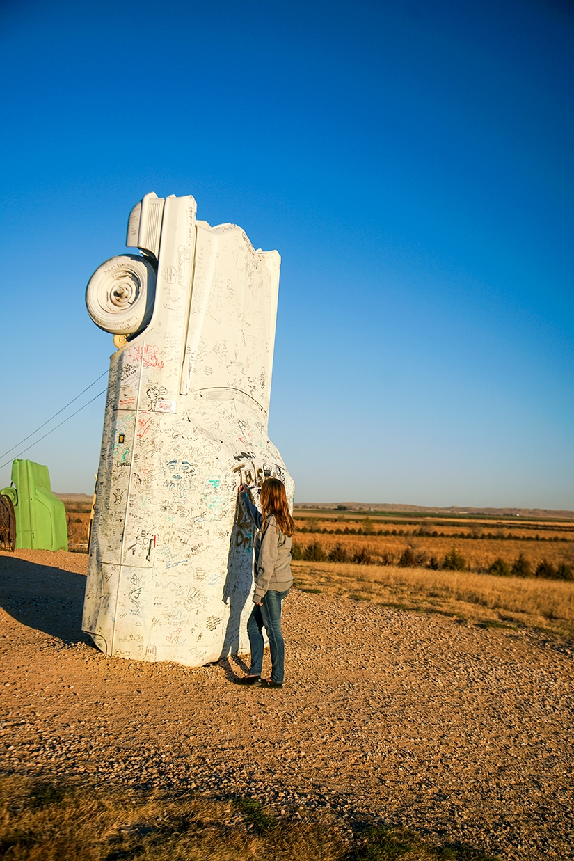 Carhenge, Road Trip through Nebraska Photo Essay