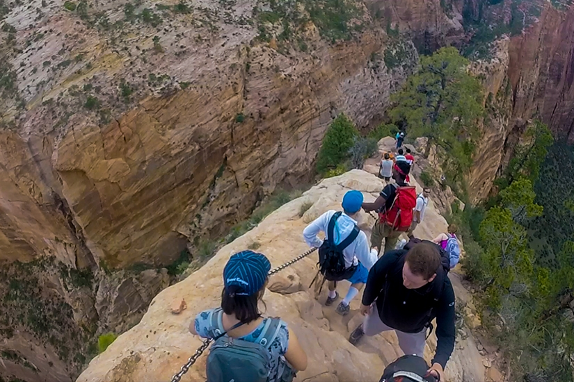 Angels Landing Hike in Zion National Park, Utah