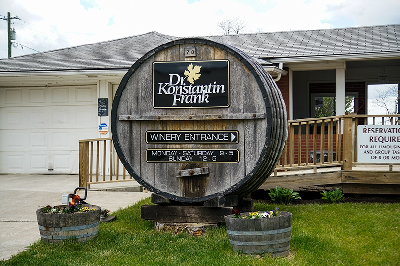 Dr. Konstantin Frank Vinifera Wine Cellars, Winery and Brewery Trail, Finger Lakes, New York