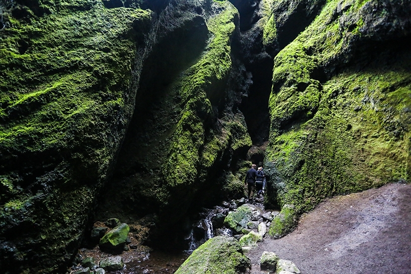 Rifts and Caves in Iceland