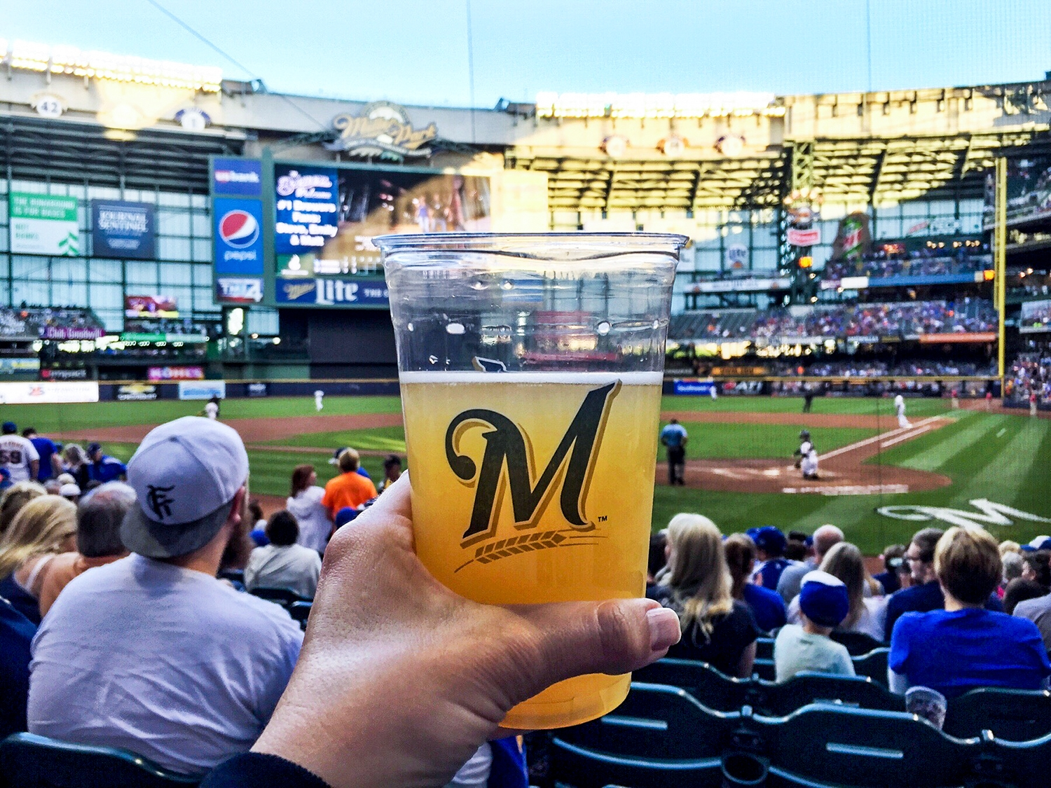 Urban Adventure in Milwaukee, Wisconsin, Brewers Game
