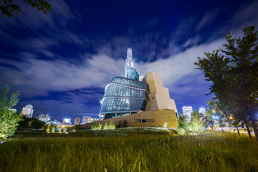 Canadian Museum for Human Rights in Winnipeg, Canada