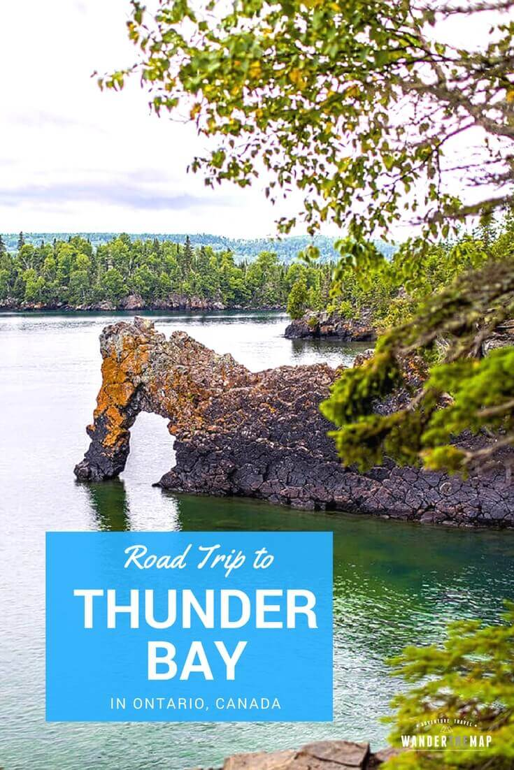 An unexpected road trip to Thunder Bay in Ontario, Canada