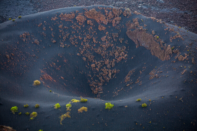 Hiking the Sierra Negra Volcano in the Galapagos Islands