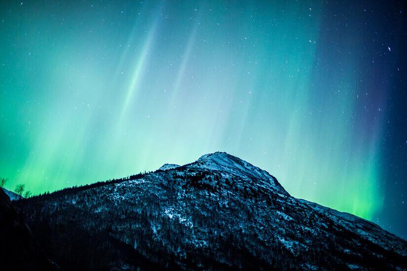 Northern Lights in Anchorage, Alaska