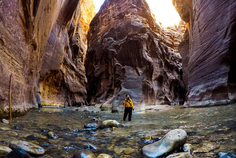 The Narrows, Winter Hiking Adventures, St. George, Utah