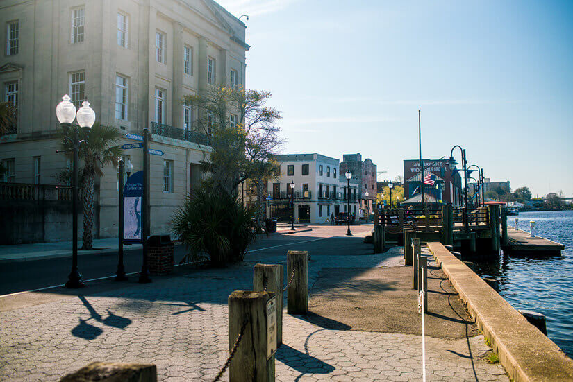 A Weekend Exploring Wilmington, North Carolina | Wander The Map on map of historic southport nc, map of historic downtown new bern nc, map of historic downtown huntsville al,