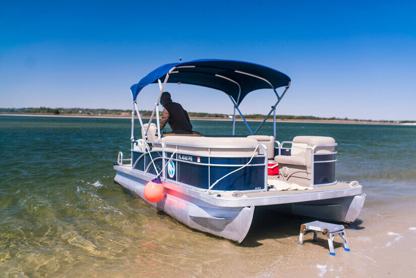 Boat Tour to Masonboro Island, Wrightsville Beach, North Carolina