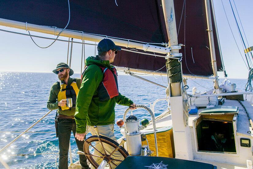 Sailing on Lake Superior with North House Folk School, Grand Marais, Minnesota