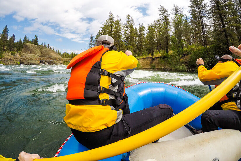 White Water Rafting in Spokane, Washington