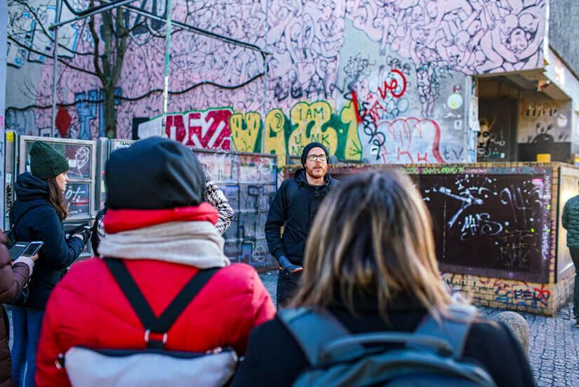 Street Art Tour and Workshop, Berlin, Germany
