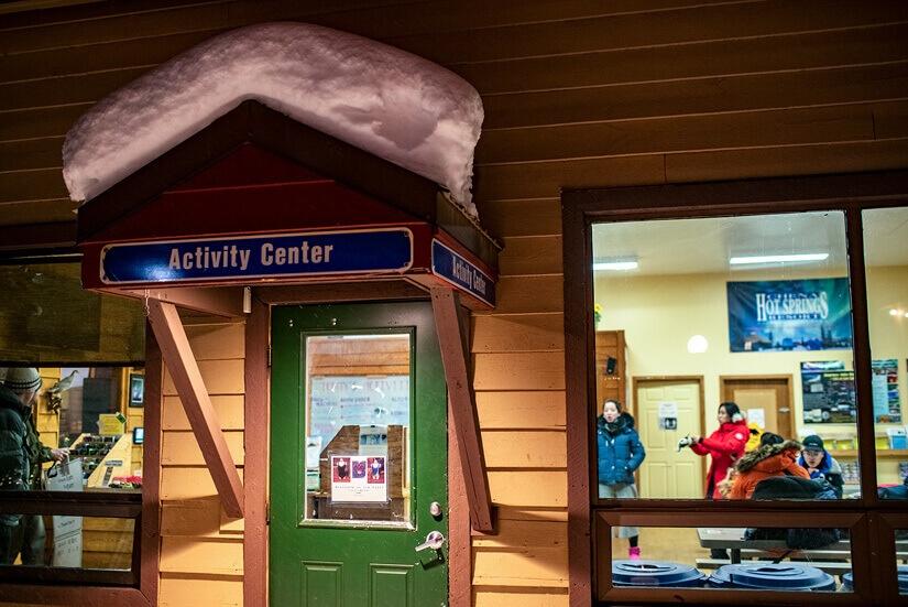 Winter Adventures at Chena Hot Springs in Fairbanks, Alaska
